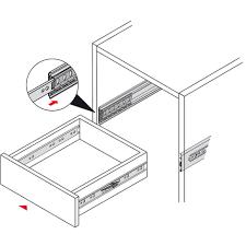coulisses a galets de tiroirs comment faire un tiroir guide complet