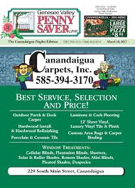 the genesee valley penny saver canandaigua naples edition 3 10 17