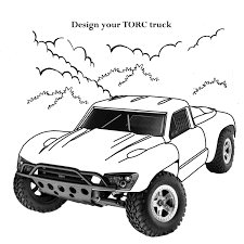 Monster Truck #70 (Transportation) – Printable Coloring Pages