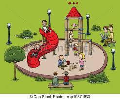 Playground Clipart Childrens Park 2