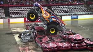 100 Monster Truck Show Columbus Ohio Nationals Highlights 2014 YouTube