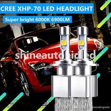 2018 built in emc cree xhp 70 led headlight kit car bulbs 9005