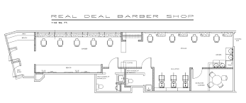 Barber Shop Floor Plan Layout Real Deal Plans House Plans