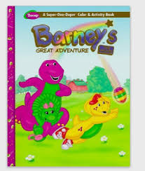FileBarneys Great Adventure Coloring Book