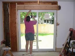Innovative Installing A Sliding Patio Door Door How To Install A