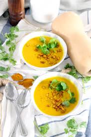 Vitamix Pumpkin Ginger Soup by Ginger Turmeric Butternut Squash Soup Bowl Of Delicious