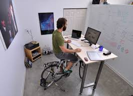 Kickstand Lets You Work Out On Your Bike While At Desk