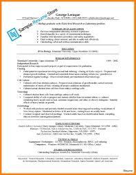 Medical Technologist Resume Samples 7 11