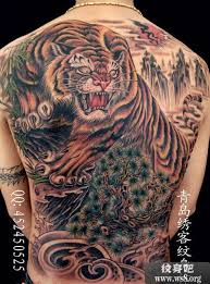 Chinese Tiger Tattoo 1