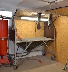 Bead Blast Cabinet Vacuum by Eigenbau Sandstrahlkabine Sandstrahler Diy Sandblasting Cabinet