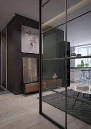 100 Glass Walled Houses Two Sleek Apartments With Interior Walls