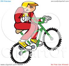 Boy In Uniform And A Helmet Riding Bmx Bike Catching Air Clipart Illustration By Andy Nortnik