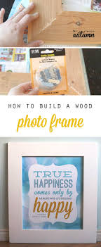 DIY Wood Frame Woodworking Projects For Kids