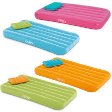 Walmart Inflatable Beds by Intex Cozy Kidz Bright And Fun Colored Inflatable Mattress With