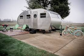 100 Vintage Travel Trailers For Sale Oregon Inspired Airstream Trailer Parks Modern Small Living Dwell