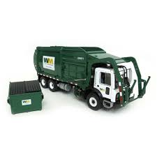 100 First Gear Garbage Truck Amazoncom 134th Mack Front End Loader Waste Management Refuse