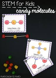 Gumdrop Christmas Tree Stem Activity by Atom And Molecule Activities Playdough To Plato
