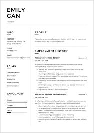New Restaurant Waiter Resume Sample 200797 Ideas Throughout Waitress