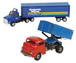 Toy Trucks (2), Structo-Freeport, ILL, Dump Truck (missing Tailgate ...