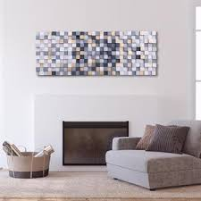 abstrakte holz wand dekor grau und gold moderne abstrakte etsy