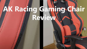 Ak Rocker Gaming Chair by Ak Racing Esports Player Gaming Chair Review Youtube