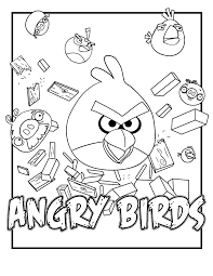 Good Angry Bird Coloring Pages 79 In For Kids Online With