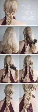 THE TRIPLE BRAID HAIRSTYLE TUTORIAL For All Missdress Reading This Post You Will Enjoy The Read We Talk About Fantastic Braided Hairstyles That