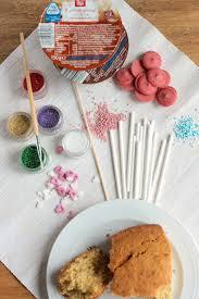 kleine kuchen am stiel eine anleitung für cakepops