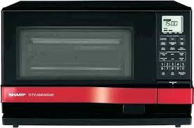Red Emerson Microwave Watt Sharp Oven