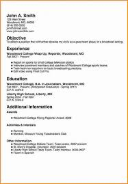 Free Download 8 Freshman College Student Resume Examples Of Get Samples For Students Sample