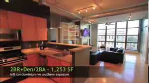 100 Loft Sf 2020 S Unit 514 SOLD 1253 Sf 2BRDen Monument Views