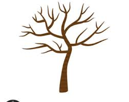 Brown Clipart Bare Tree