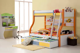 Childrens Bedroom Designs For Small Rooms Kids Room Jpg Part 27 Lovely Awesome Bunk Bed Design Triplets With Striped Bedding Also
