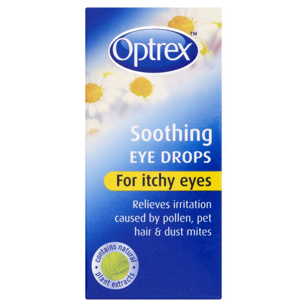 Optrex Soothing Eye Drops - Itchy Eyes, 10ml