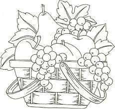 Fruit Basket Would Make A Nice Applique Pattern