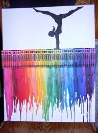 Melted Crayon Art 2
