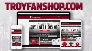 Troy Athletics & Barnes and Noble Launch New line Team Store
