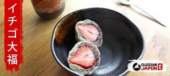 cuisine japonaise recette facile recette ichigo daifuku matcha cuisine japon