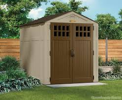 suncast 6x8 everett three plastic shed gardens