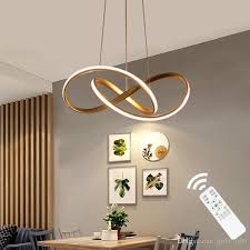 großhandel gold schwarz weiß acryl moderne pendelleuchten für wohnzimmer esszimmer led beleuchtung für zuhause fixture einfache led len finished