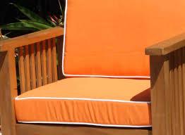 Outdoor Furniture Cushions Sunbrella Fabric by Sale Sunbrella Fabric Steamer Cushion Oceanic Teak Furniture