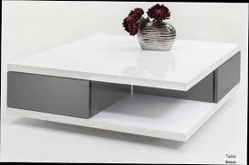 table de salon gris et blanc table basse but maisonjoffrois