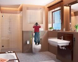 vorwandsystem für höhenverstellbare sanitärobjekte in der