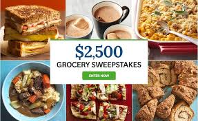 Better Homes and Gardens $2500 Grocery Sweepstakes Sweepstakesnew