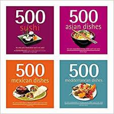 International Cookbook Set 4 Cookbooks In Assortment 2000 Recipes Asian Mediterranean Mexican Japanese BAA 9942 Amazonde Ghillie Basan