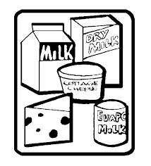 dairy food group clipart