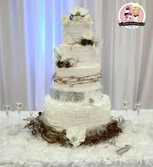 Elegant Rustic Wedding Cakes