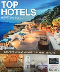 100 Best Architectural Magazines Top Hotels Magazine 2015 George Fakaros Architectural