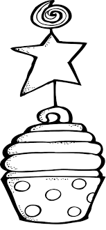 Cupcake Coloring Page s