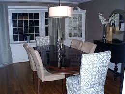 Dining Room Table Chair Covers Chairs Home Within Ideas